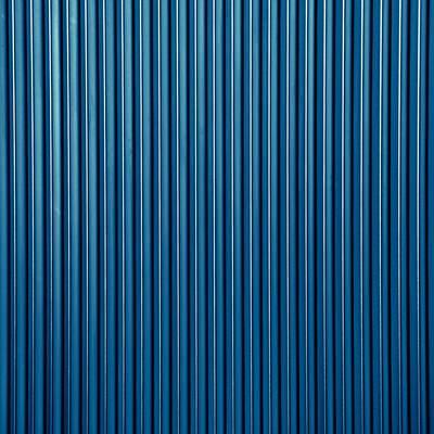 青いトタン(テクスチャー)の写真