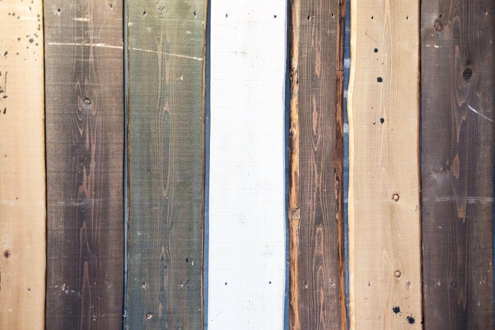 「木の板(テクスチャー)」の写真