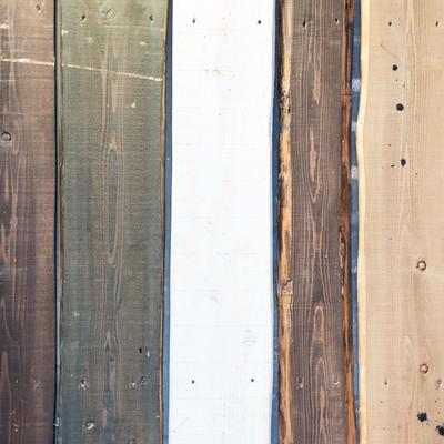 「木の板(テクスチャー)」の写真素材