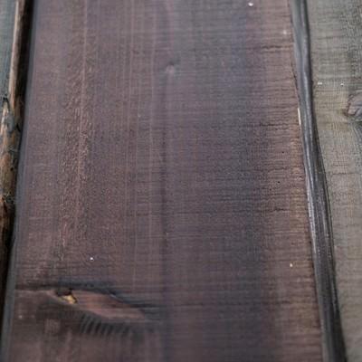 「木の柵」の写真素材