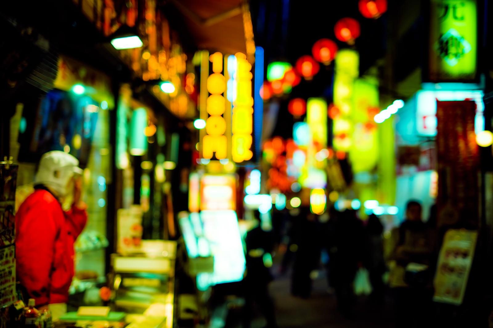 「路地裏の商店路地裏の商店」のフリー写真素材を拡大