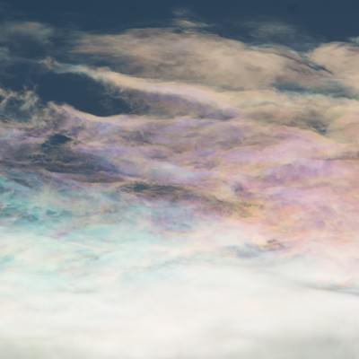 「彩雲(さいうん)」の写真素材