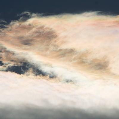 「虹雲」の写真素材