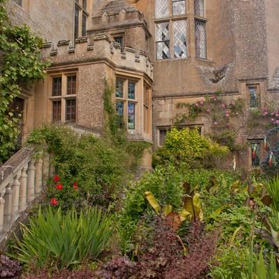 「スードリー城の庭」の写真素材