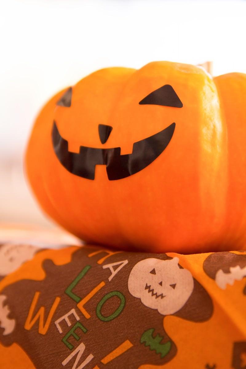 「Hlloween!のかぼちゃ」の写真