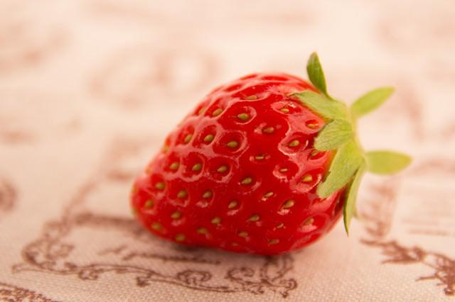 綺麗な苺の写真
