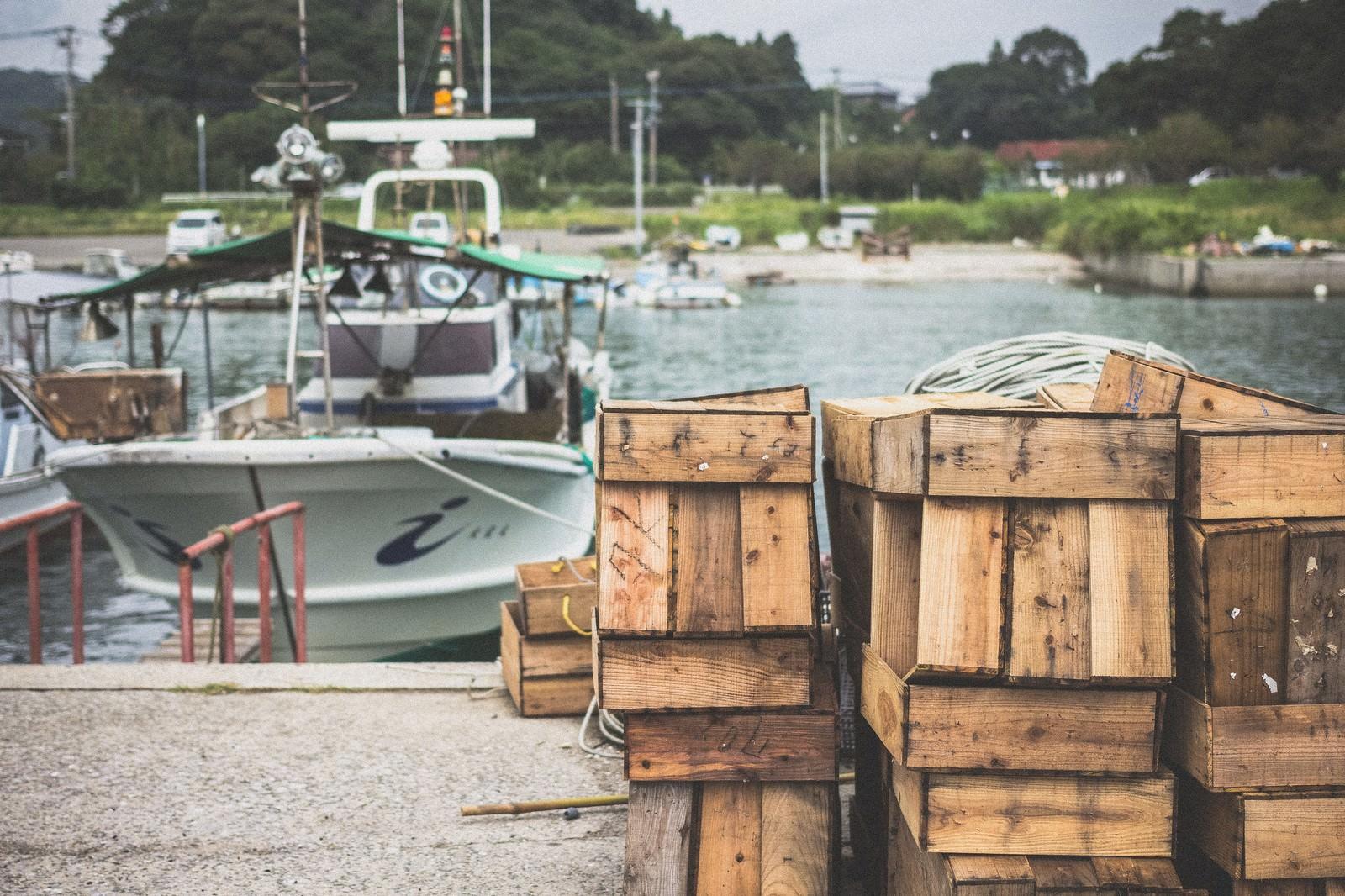 「漁港の風景」の写真
