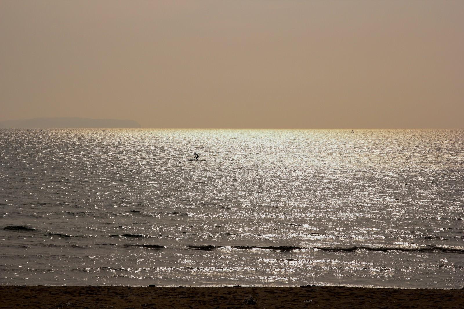 「夕焼けの海」の写真