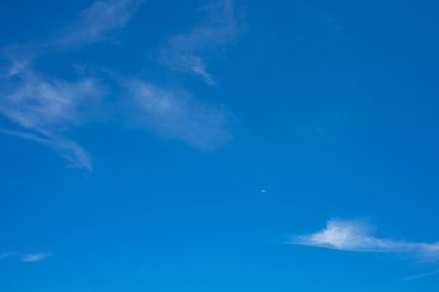 晴れた日の空の写真
