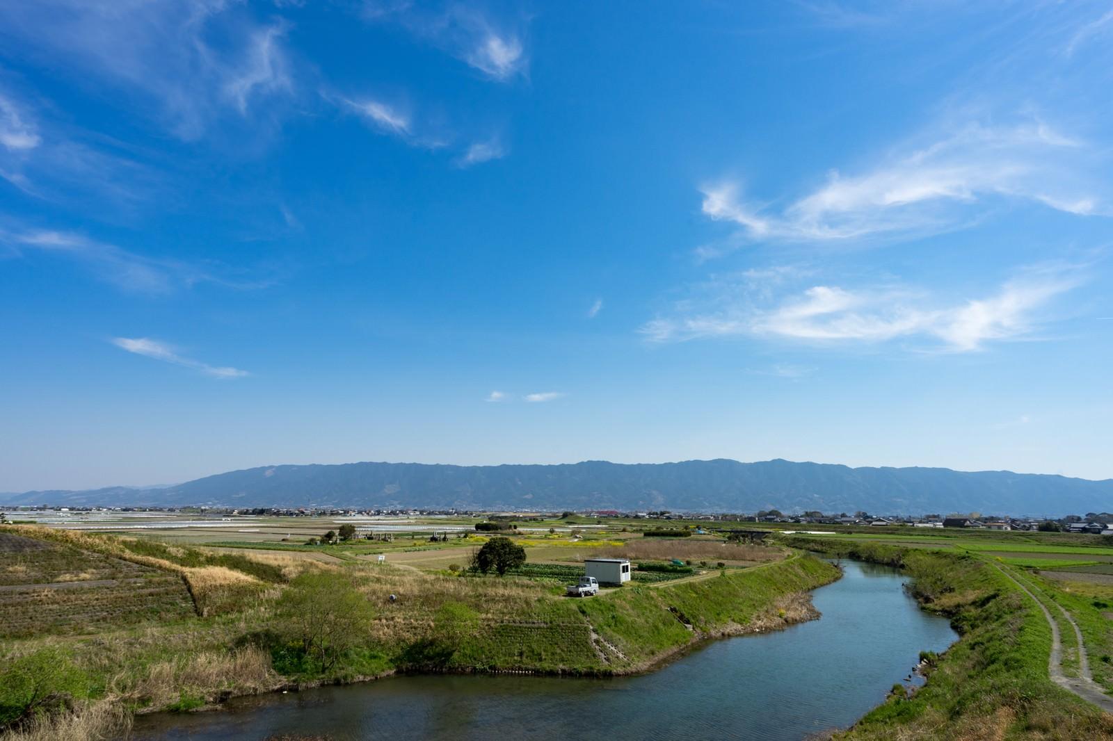 「大刀洗小石原川の様子大刀洗小石原川の様子」のフリー写真素材を拡大