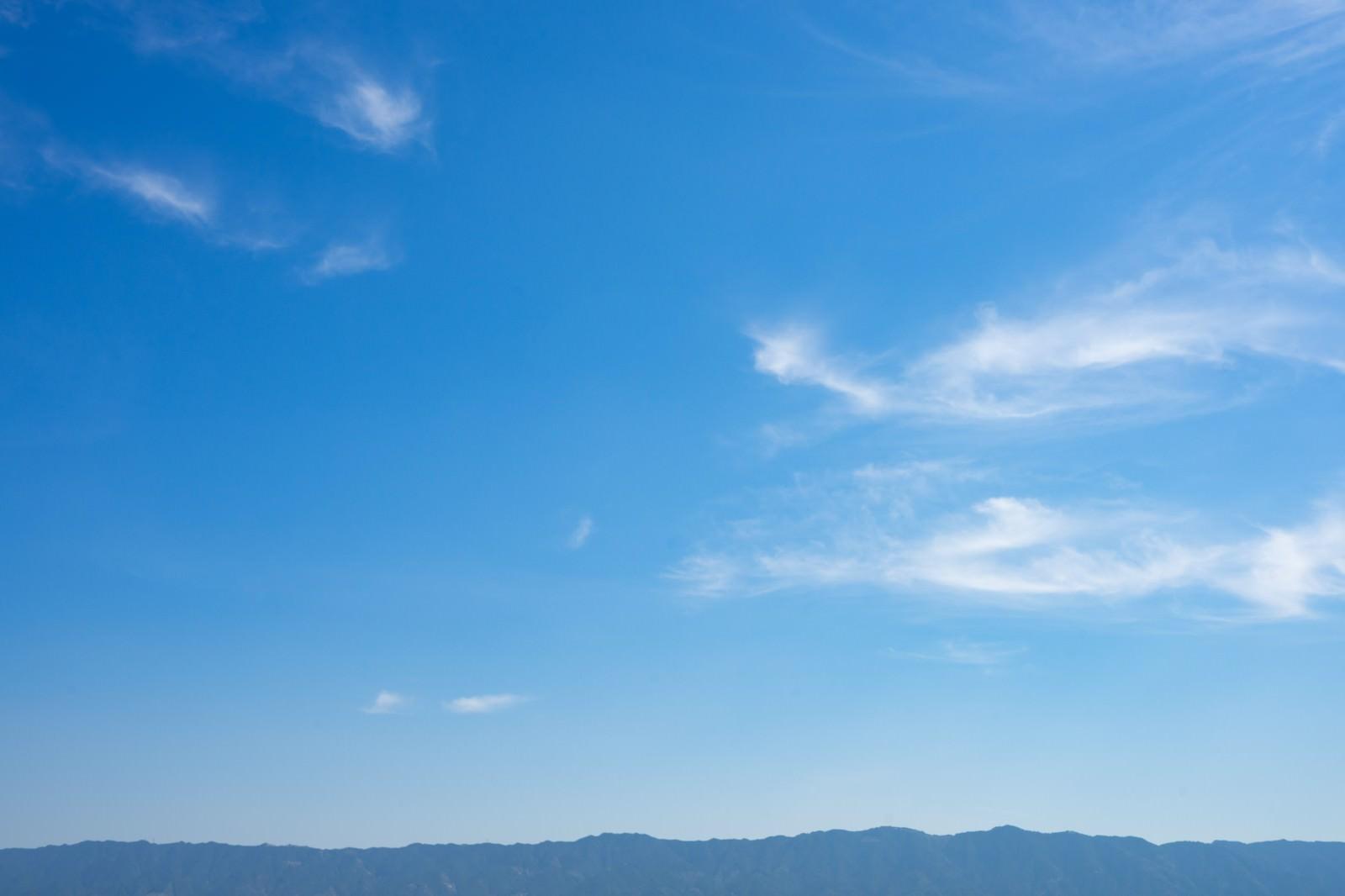 「晴れのち山晴れのち山」のフリー写真素材を拡大