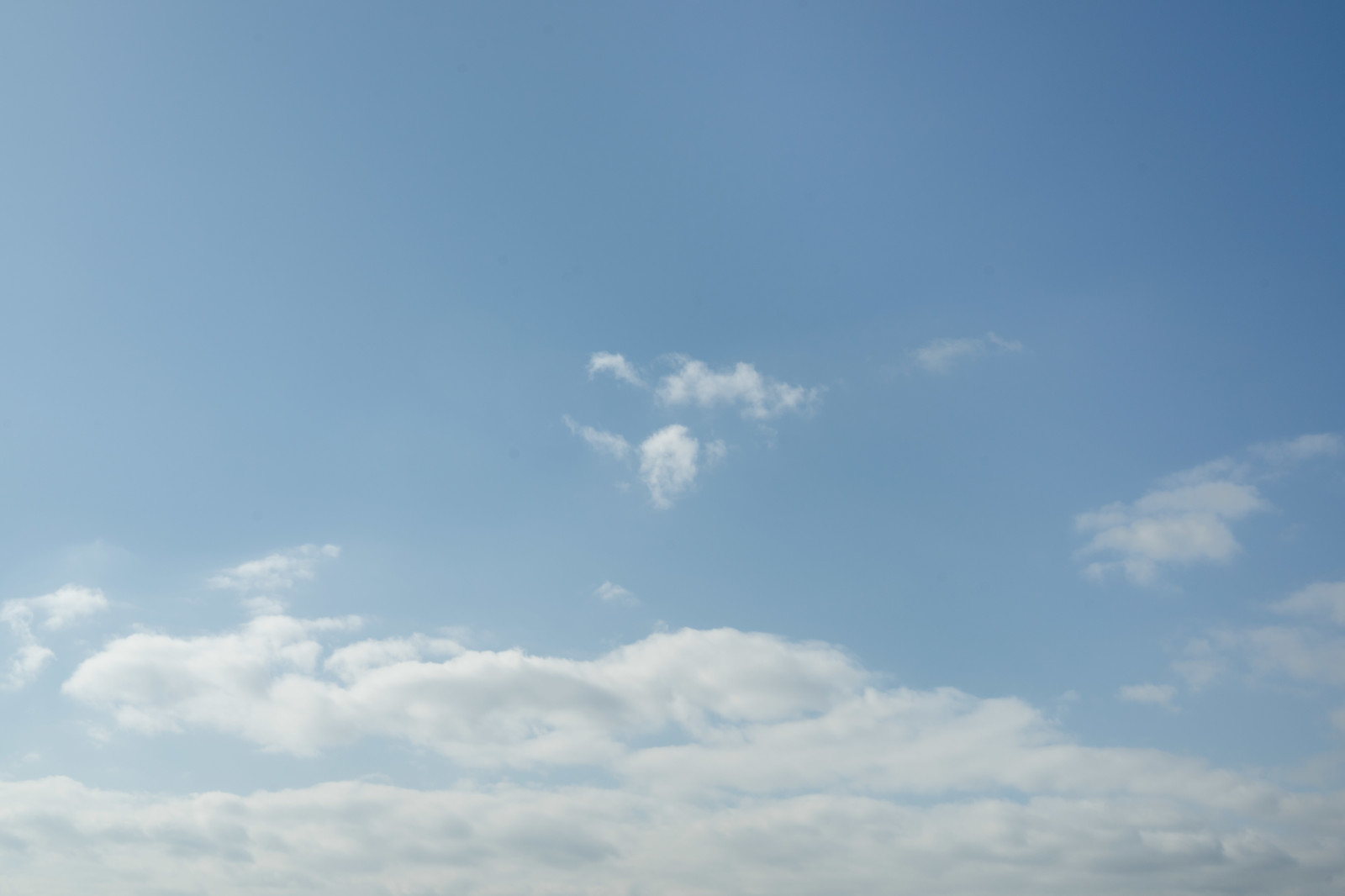 「積雲と青空」の写真
