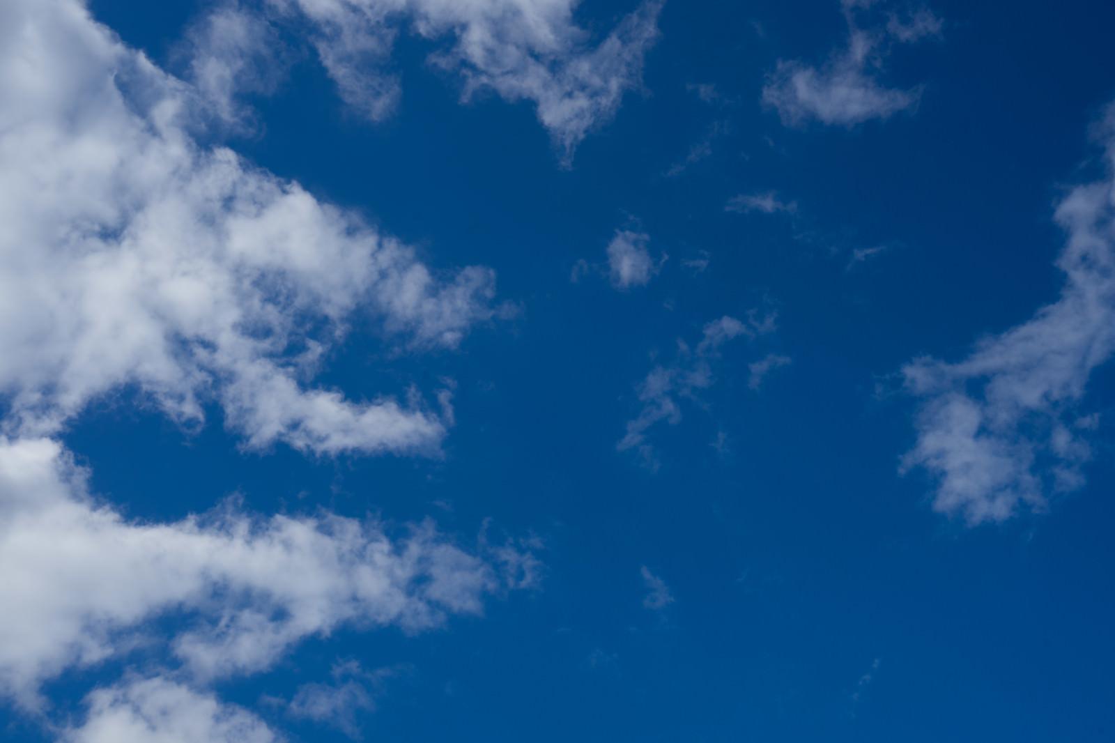 「雲と空模様」の写真