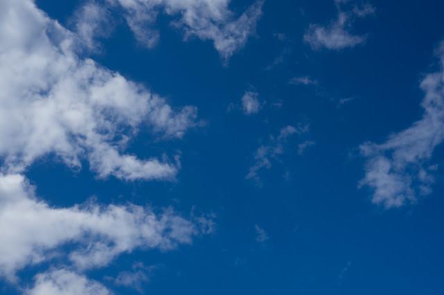 雲と空模様の写真