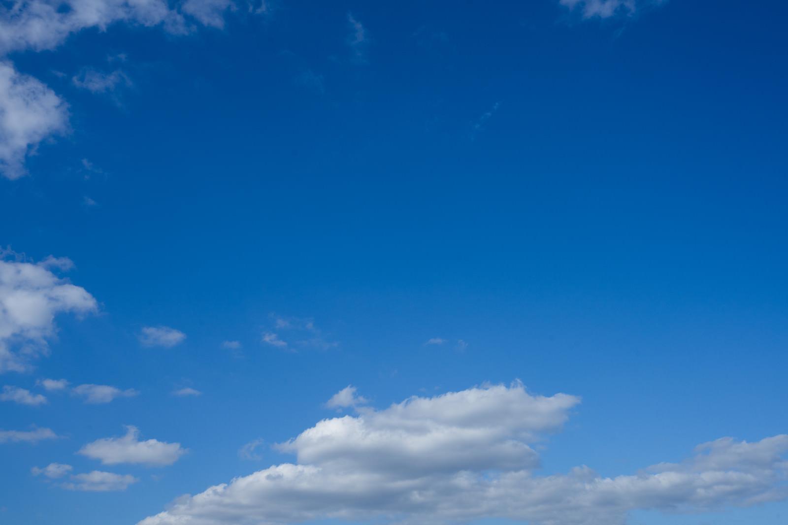 「晴れた空晴れた空」のフリー写真素材を拡大