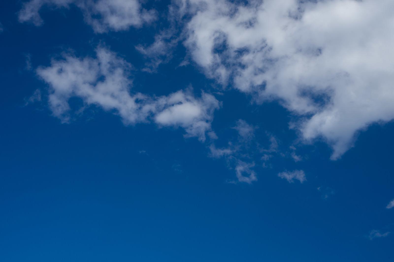 「あおいそらと雲」の写真