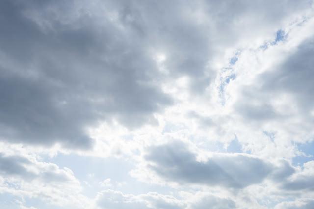 雲は、天然のディフューザーの写真