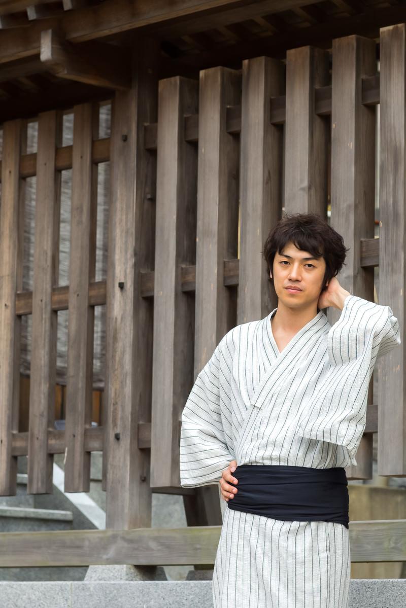 「浴衣デートすっぽかされる」の写真[モデル:Tsuyoshi.]