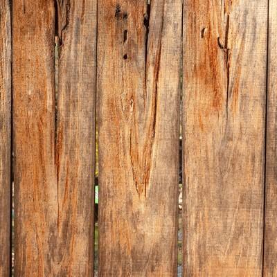 木の柵のテクスチャーの写真