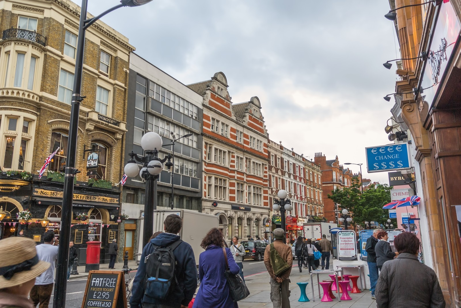 「ロンドンの街並み」の写真