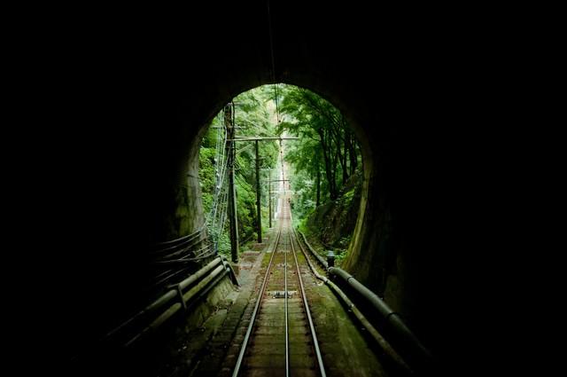 高尾のトンネルの写真