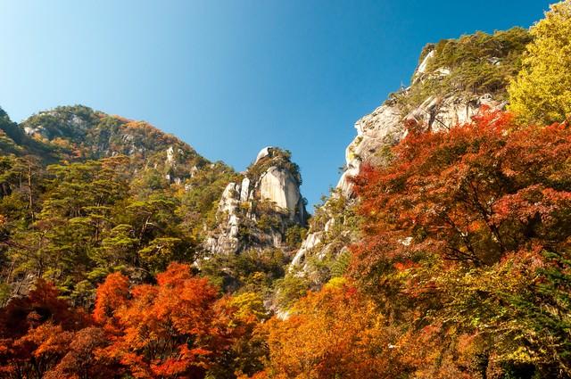 昇仙峡の秋の写真