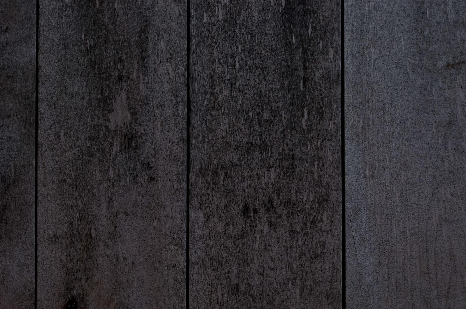 「色あせた木の壁(テクスチャ)」の写真
