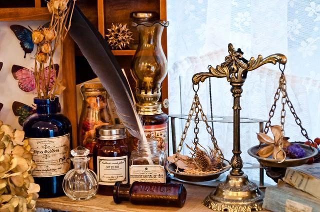 魔女の薬棚の写真