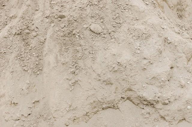 土(砂)のテクスチャーの写真