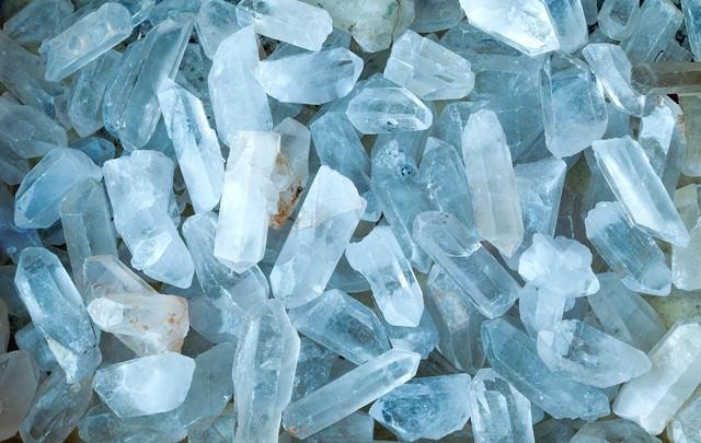 水晶のテクスチャーの写真