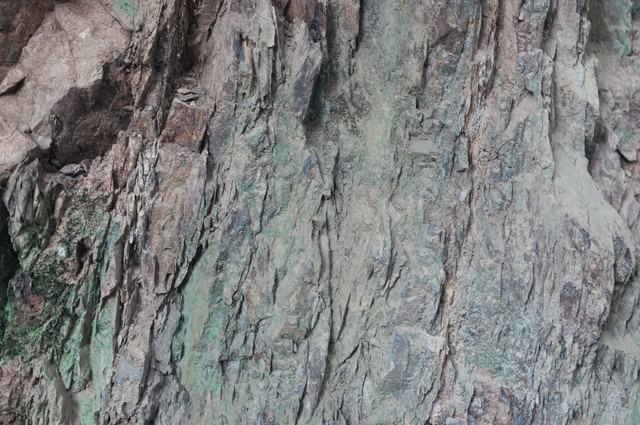 ゴツゴツした岩肌(テクスチャー)の写真