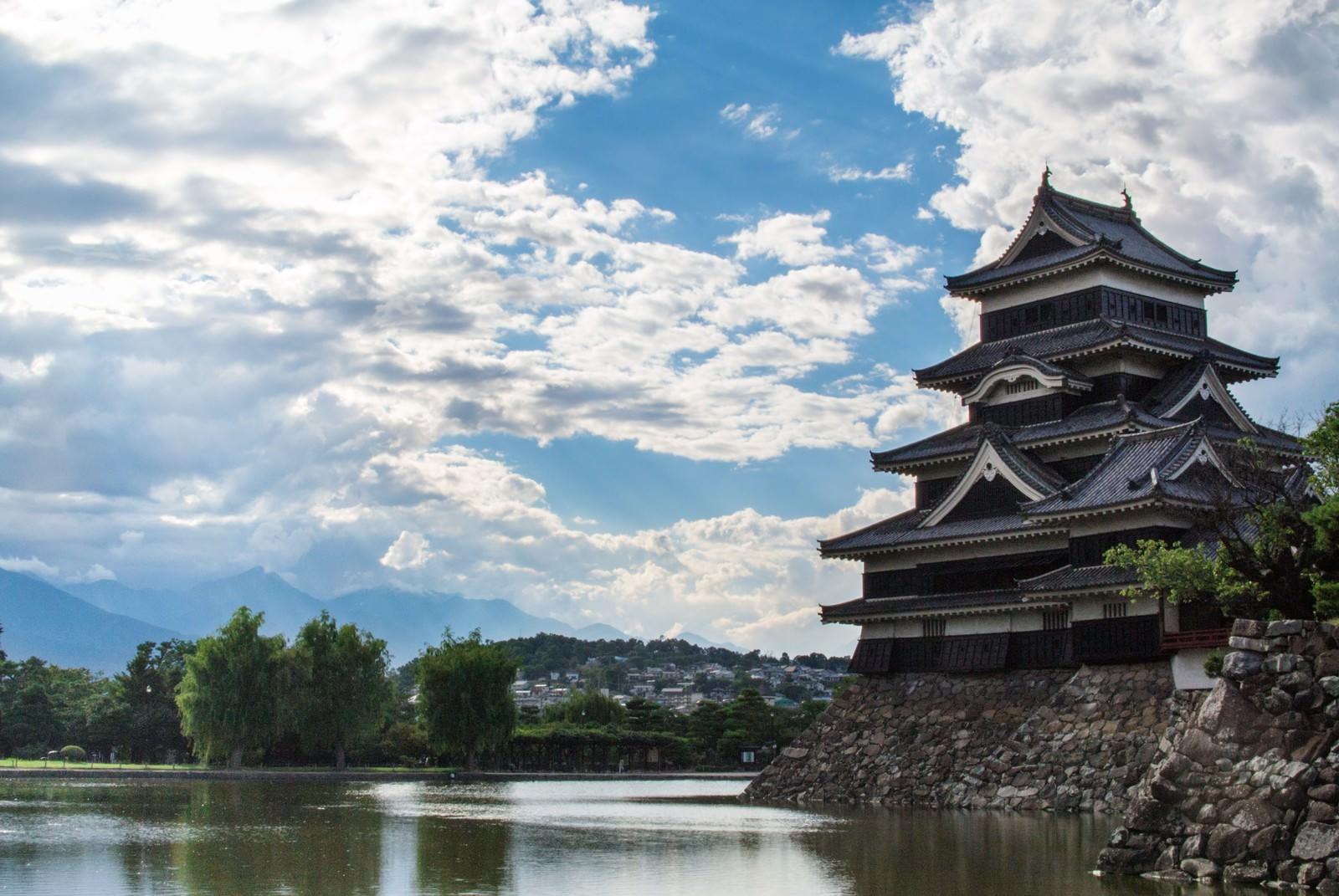 「松本城松本城」のフリー写真素材を拡大