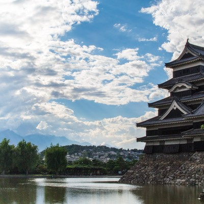 「松本城」の写真素材