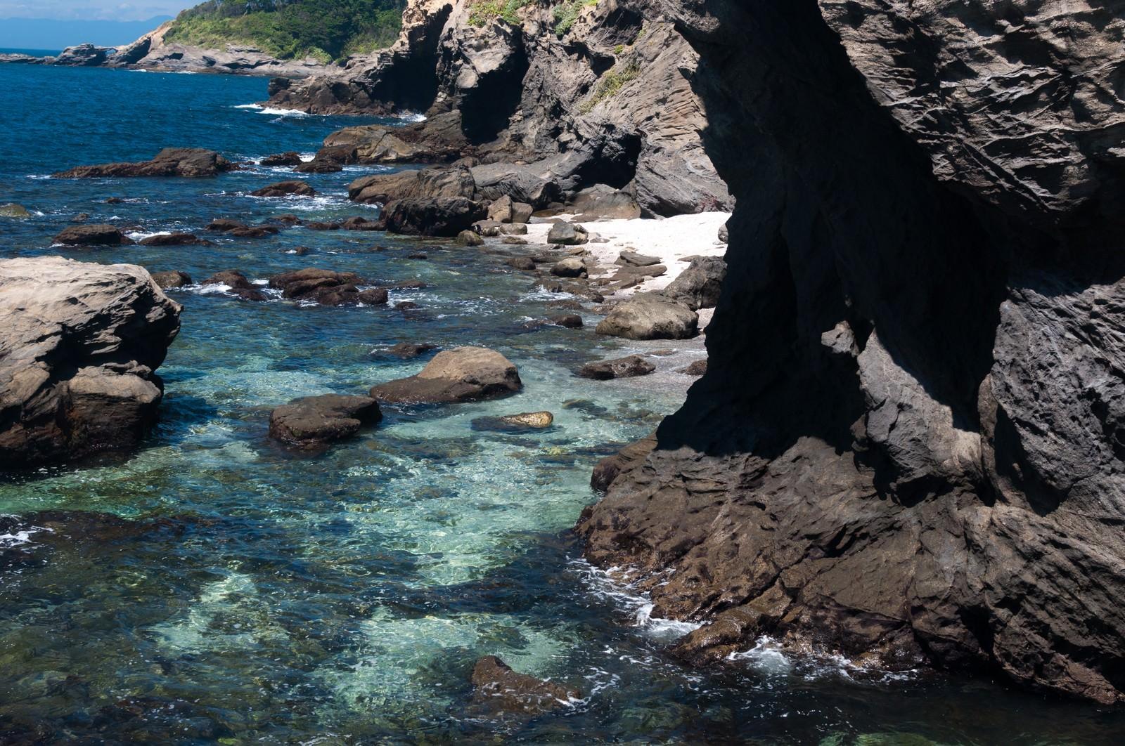 「三浦半島城ヶ島の海」の写真