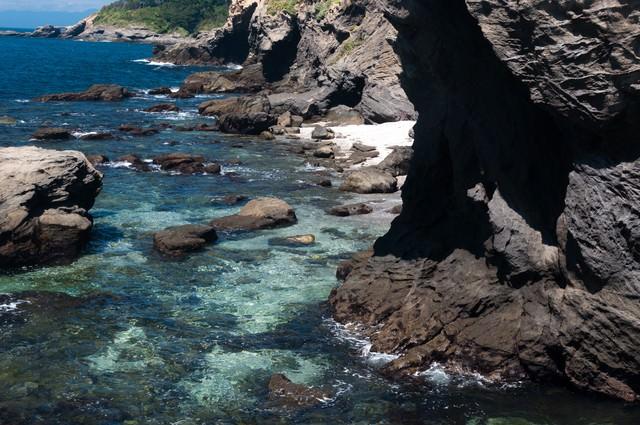 三浦半島城ヶ島の海の写真