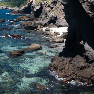 「三浦半島城ヶ島の海」の写真素材