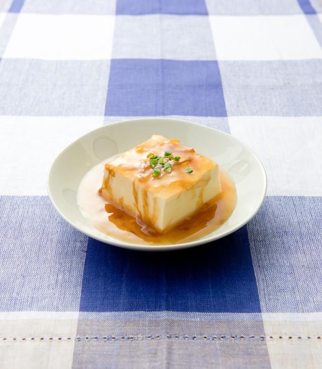 あんかけ豆腐の写真