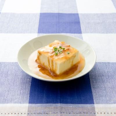 「あんかけ豆腐」の写真素材