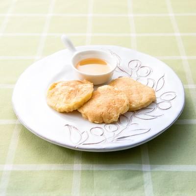 「豆腐のパンケーキ」の写真素材