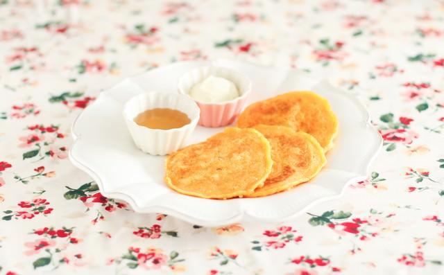 プチパンケーキの写真