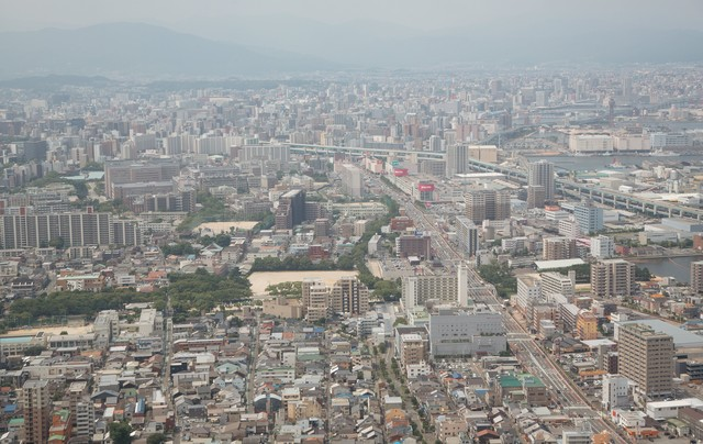 福岡市街の写真