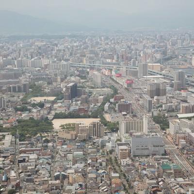 「福岡市街」の写真素材