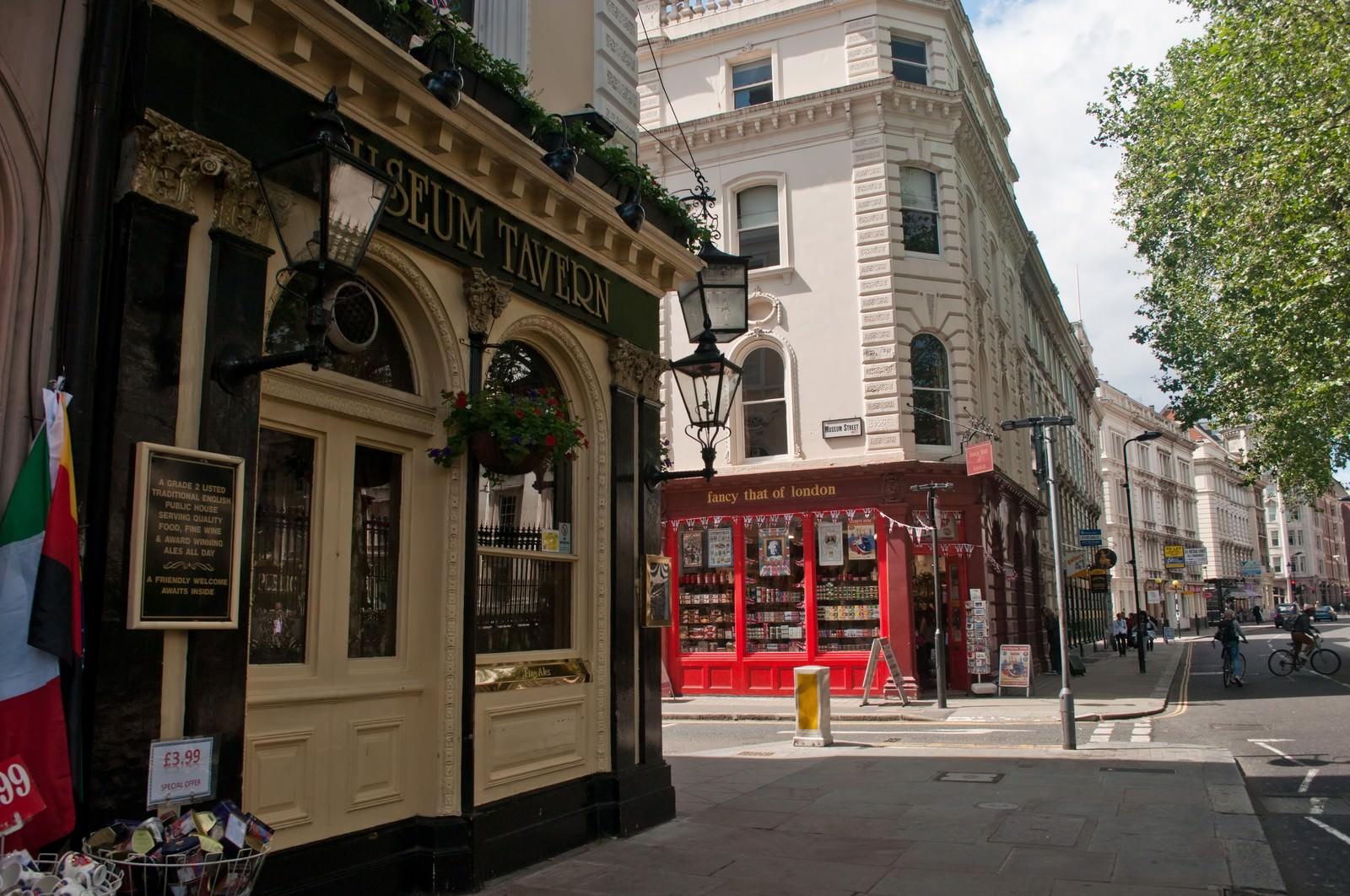 「ロンドンのショップと町並み」の写真