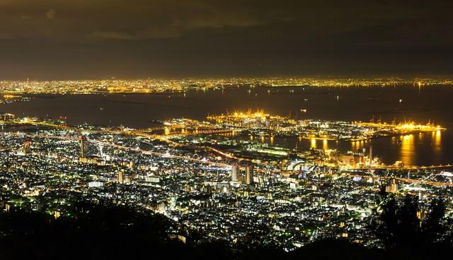 神戸の夜景の写真