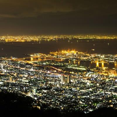 「神戸の夜景」の写真素材