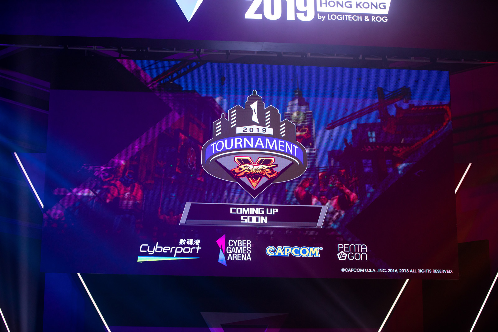 「COMING UP SOON  - E-Sports Festival Hong Kong 2019」の写真