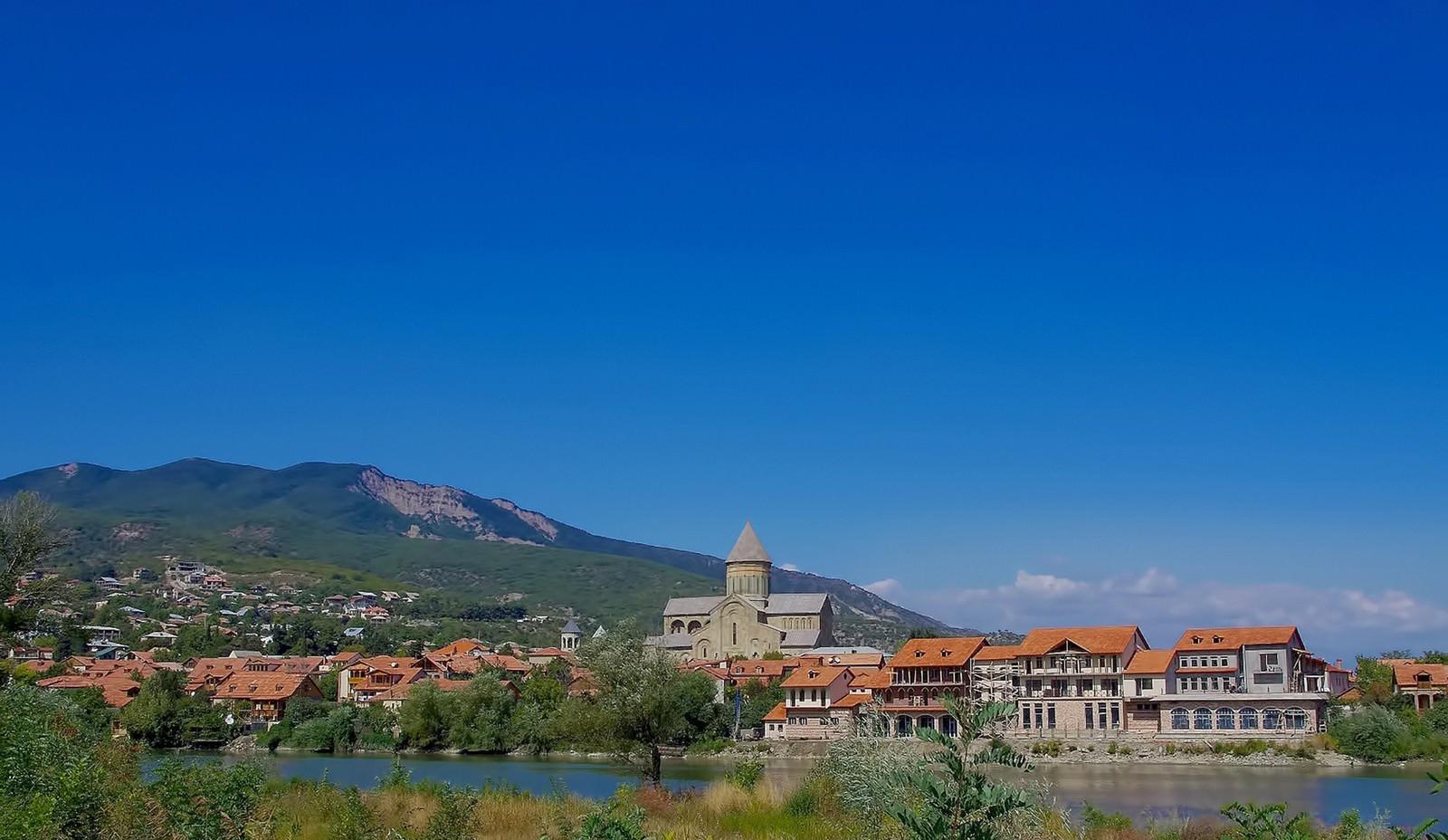 「グルジアの建物」の写真