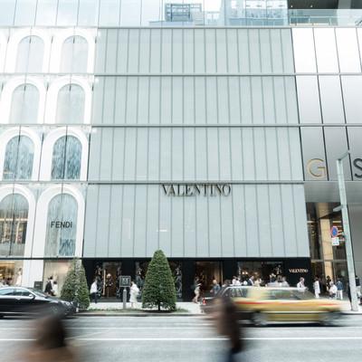銀座にある大型商業施GINZA SIXの写真