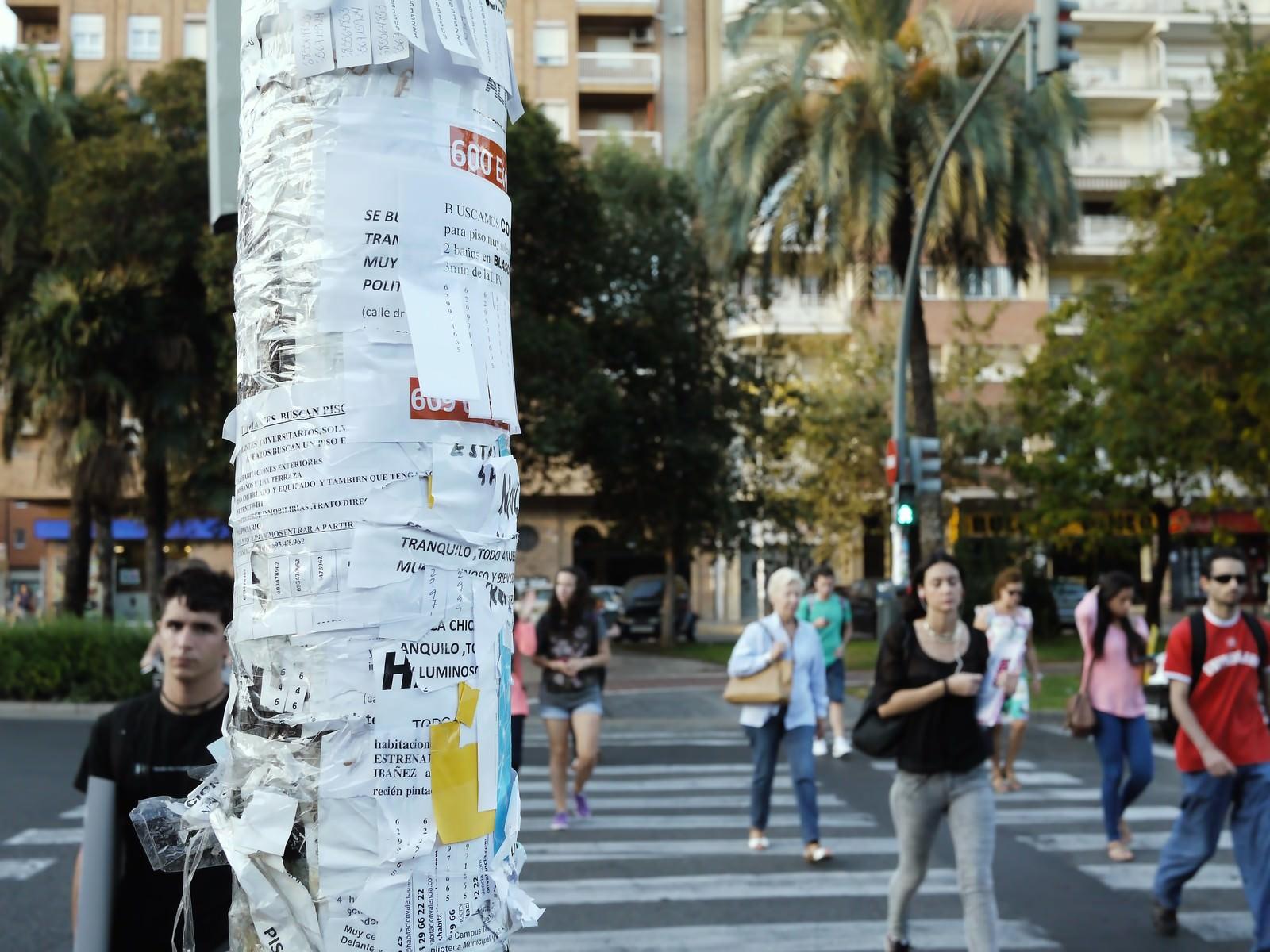 「スペイン(バレンシア)の出勤風景スペイン(バレンシア)の出勤風景」のフリー写真素材を拡大