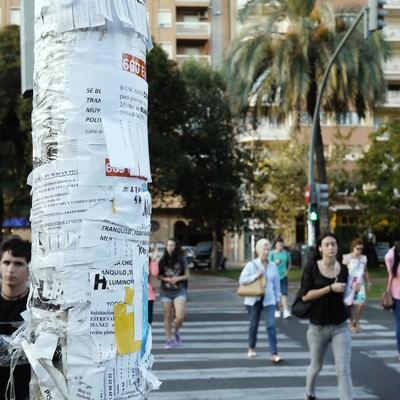スペイン(バレンシア)の出勤風景の写真